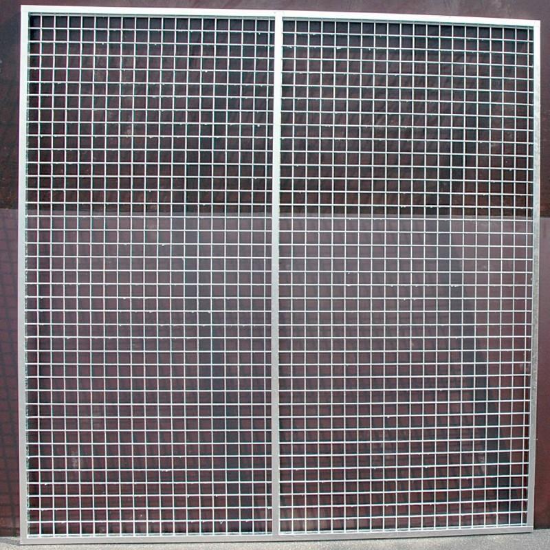 Panneau de coté 2x2 m (Mailles 5 x 5 cm)