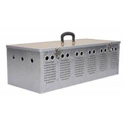 Panier aluminium 3 cases