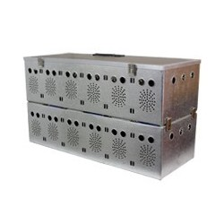Panier aluminium 10 cases