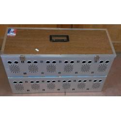Panier aluminium 12 cases